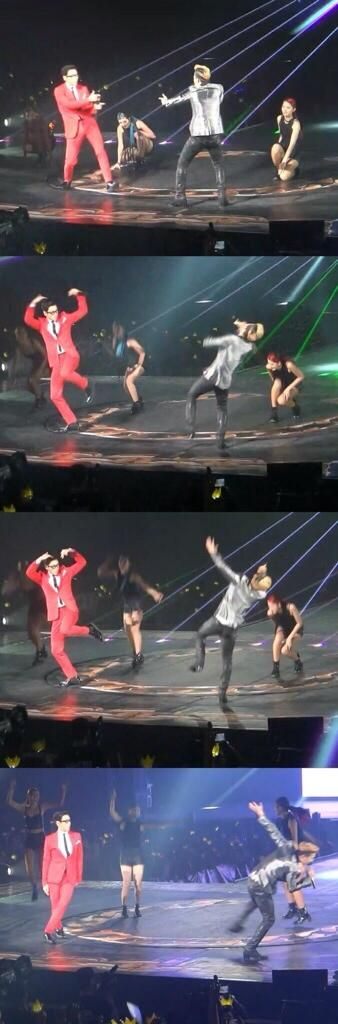 T.O.P and GD being cute