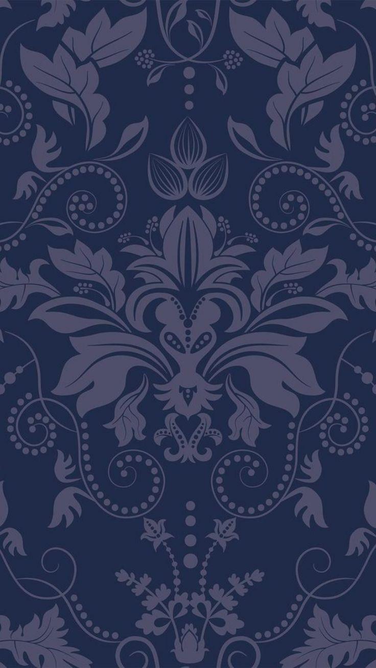 Blue Damask Basic Peel And Stick Removable Wallpaper 4354 Blue Background Wallpapers Basic Background Removable Wallpaper