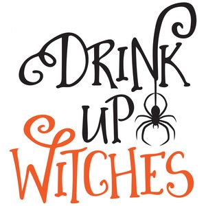 Silhouette Design Store - View Design #152107: drink up witches
