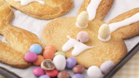 Easter Shortbread Biscuits #Baking #Kids