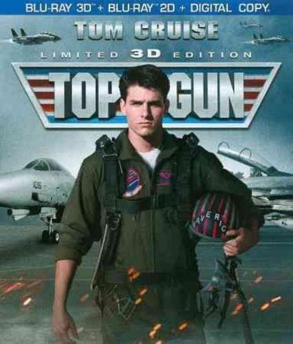 TOP GUN (2 DISCS/3D BR/2D-BR/DC/ULTRA VIOLET) (3-D)