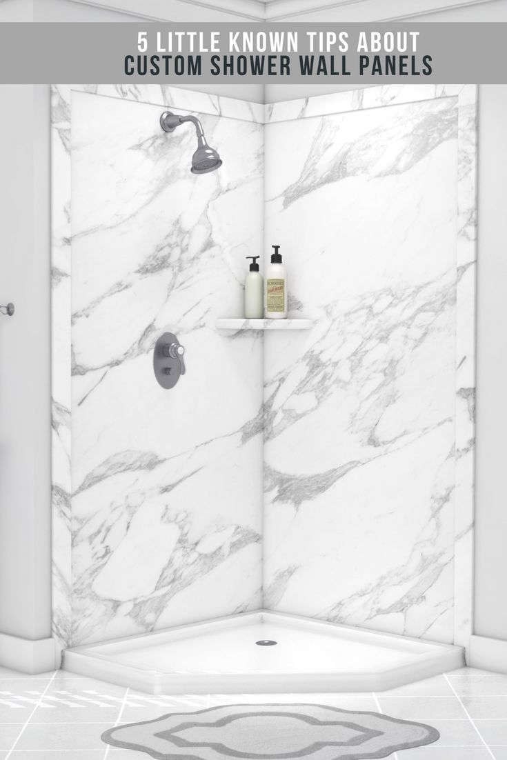 177 best Shower & Tub Wall Panels images on Pinterest | Bathroom ...