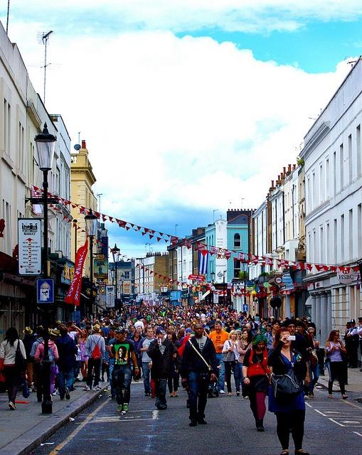 Notting Hill Carnival 2011, London via http://townfish.com. Follow us: http://twitter.com/townfish_london