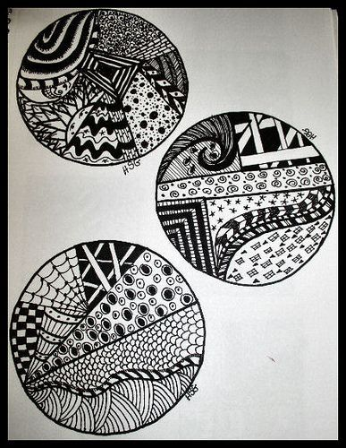 17 Best Ideas About Zentangle For Beginners On Pinterest