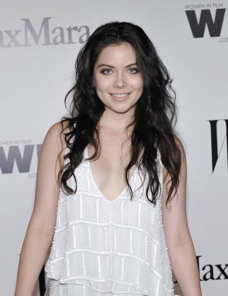 Actress Grace Phipps attends the Max Mara and W Magazine cocktail party to honor the Women In Film Max Mara Face of the Future Awards recipient...