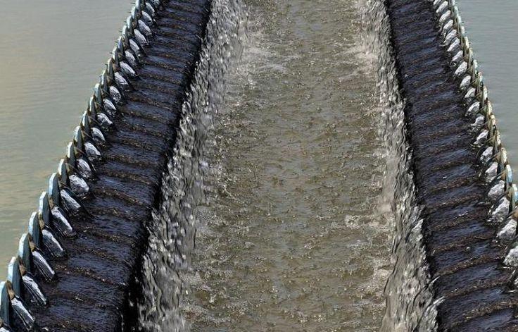 planta potabilizadora de Mendoza, ubicada en el distrito de La Chorrera, Panamá Oeste, con un capacidad máxima de producción de 40 millones de galones diarios de agua.