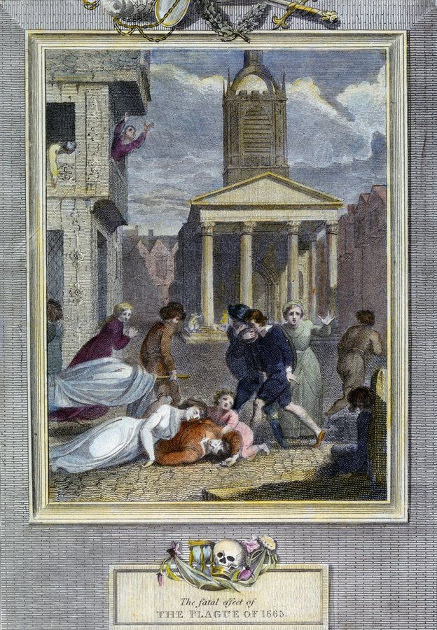 En el verano de 1665, la ciudad de Londres estaba a merced de una de las peores plagas de todas. La BBC reunió testimonios de quienes vivieron el horror de lo que se conoce como La Gran Peste.