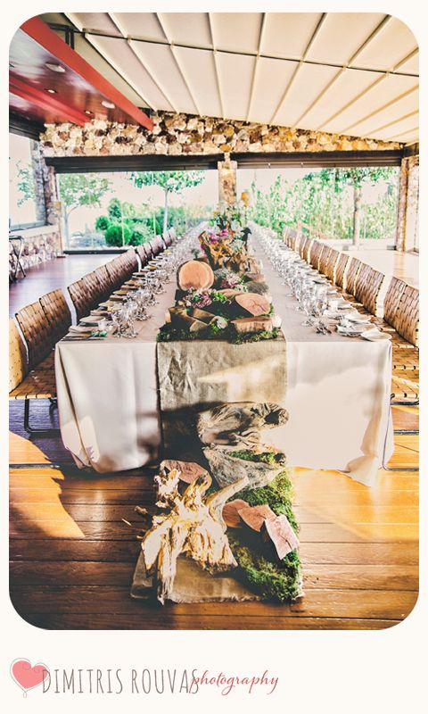 Ktima Laas - Setup for Ourania's & Serge's Wedding.. Decoration - Ioanna Vamvakari (Thanks to..!)