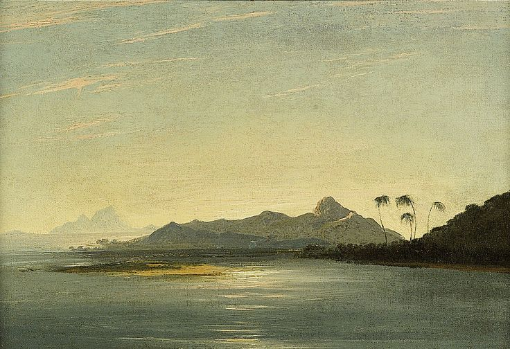 View of the Islands of Otaha [Taaha] and Bola Bola [Bora Bora] with Part of the Island of Ulietea [Raiatea] - National Maritime Museum