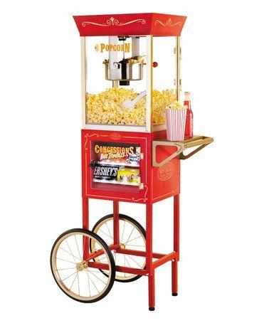 Loving this 8-Oz. Vintage LED Kettle Popcorn Cart on #zulily! #zulilyfinds