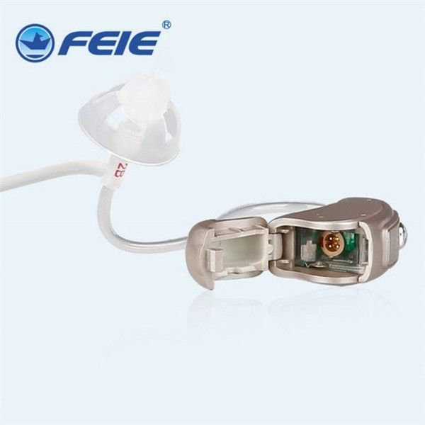 288.61$  Buy here - http://alitp3.worldwells.pw/go.php?t=32680403154 - audifonos para sordos Feie marca MY-19S High & Low Frequency Digital RIC Type hearing aid tube best Gift 288.61$