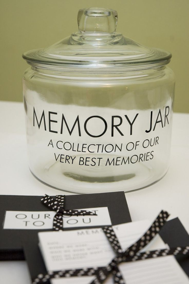 Last Key Creations - Memory Jar. Hard but worrh it. Keep all of your best memories in a jar.