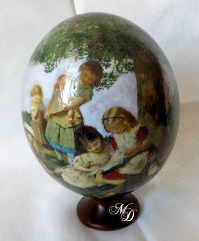 Children Ostrich-egg