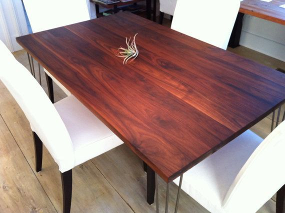 Black Walnut Table Top Made By Scottcassin