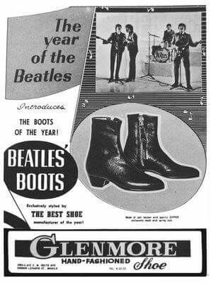 "Beatles boots-I bet that they sold like ""hotcakes."""