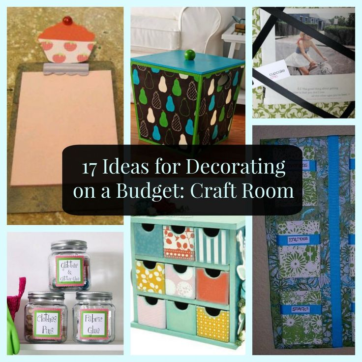 17 Ideas for Decorating on a Budget: Craft Room | FaveCrafts.com
