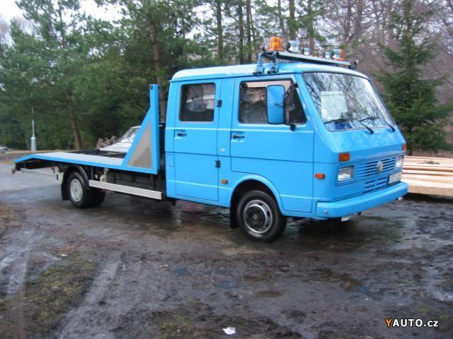 VW LT 35 odtahovka do 3.5t,stačí B, bez mýta,bez tachografu Nákladní auta - Olomouc