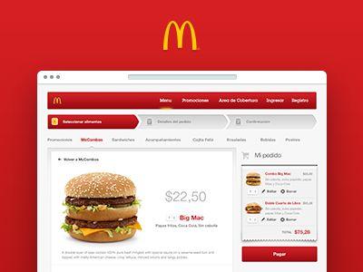 McDonald's Online Ordering by Facundo Gonzalez