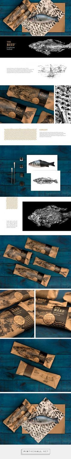 THE REEF Ecuadorian seafood / Designed by Santiago Kubu