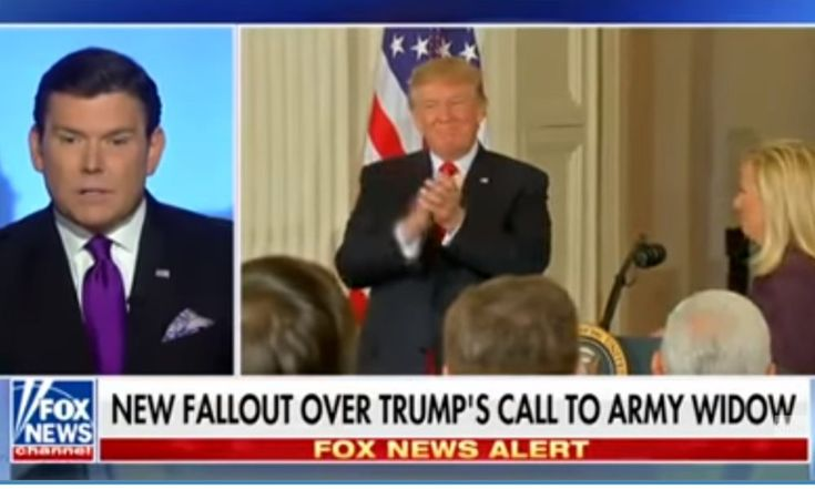 Fox News Anchor Blames Trump For Fallen Soldier Controversy: He 'Opened The Door' By Attacking Obama