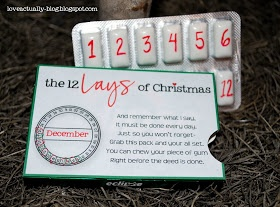 Love, Actually: The 12 Lays of Christmas // Can't wait to love my husband well. Too bad I didn't see this sooner...