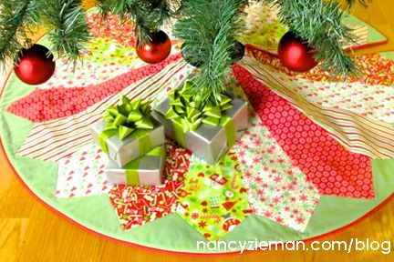 1000 Images About Christmas Tree Skirts On Pinterest