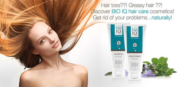 Hair loss? Greasy hair problems? Discover the power of BIO IQ hair care cosmetics! Get rip of your problems... naturally!  Don't tire your hair with chemical ingredients. Give then a lot of active, high quality, natural ingredients instead... you will be surprised how thankful you hair and skin will be! Try BIO IQ natural & organic cosmetics.
