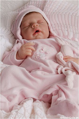realistic baby girl doll