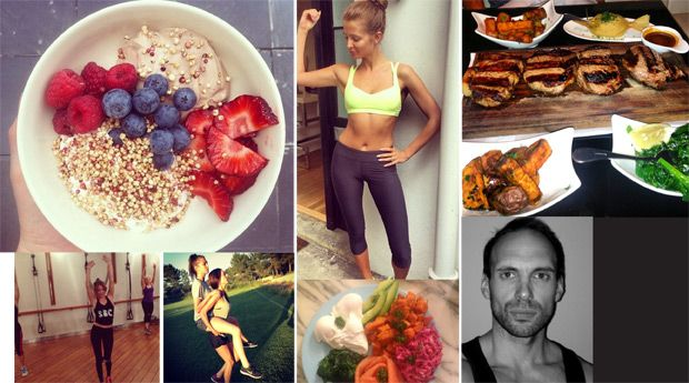 get-the-gloss-my-week-in-food-russell-bateman What does the man behind the fit bodies of Daisy Lowe and Suki Waterhouse eat? We found out...