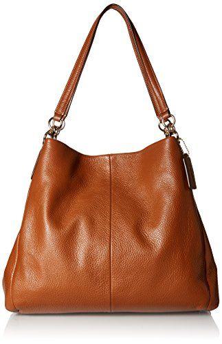 Coach Women's Phoebe Shoulder Bag, Saddle Discount Handbags, Totes, Satchels | handbagsurplus.com Discount Designer Handbag