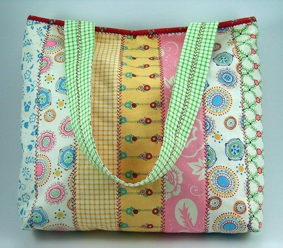 Jelly roll tote tas naaien patroon en stof bloem broche pdf handleiding... Onmiddellijke download beschikbaar  Deze aanbieding is voor de