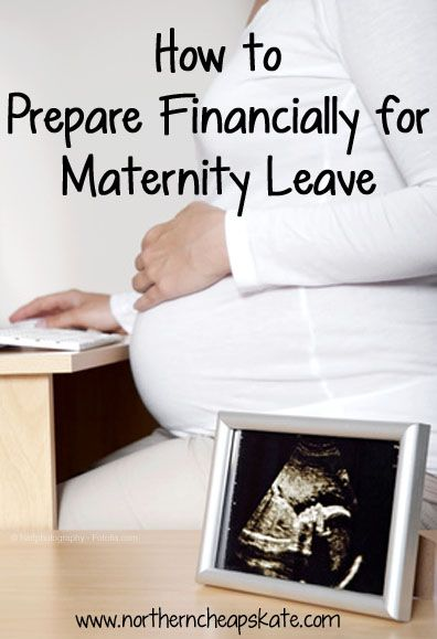 Learn how to prepare financially for maternity leave to make your time at home with your newborn that much more special.