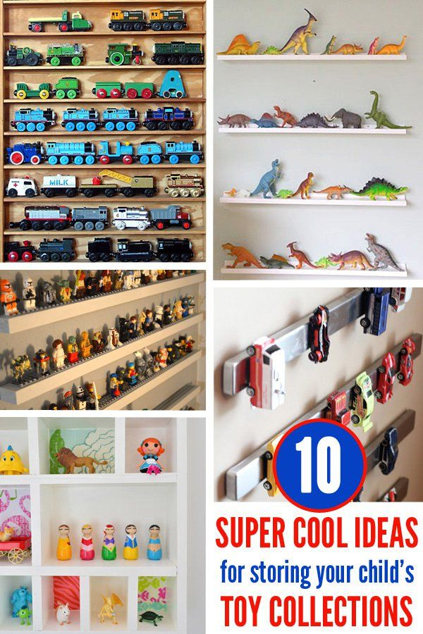 10 super cool storage ideas for your child's toy collection