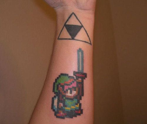 Link to the past tattoo geek pinterest for Sex porn tattoo