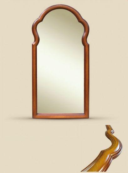 Зеркало в прямоугольной фигурной раме из дерева КР | Производственная компания Кант - рамы и багет для зеркал