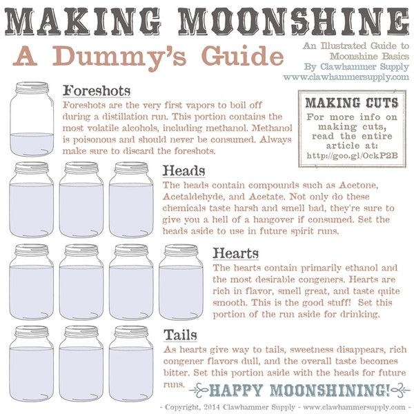 A Dummies Guide to Making Moonshine