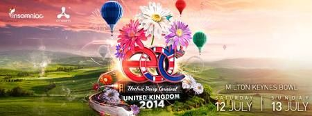 Electric Daisy Carnival (EDC) United Kingdom 2014 On July 12-13, 2014 at 12:00 pm to 11:00 pm at The National Bowl, Watling Street (V4), Milton Keynes, MK5 8AA, United Kingdom. Insomniac & Cream present: Electric Daisy Carnival UK 2014 at Milton Keynes Bowl. Tickets: http://atnd.it/11296-0. Category: Nightlife. Price: GBP 131. Artists: Avicii, Ben Gold, Davide Squillace, Dubfire, Ferry Corsten, Hot Since 82, Joris Voorn, Marco Carola, Martin Garrix, Nicky Romero, Ørjan Nilsen, Paul…