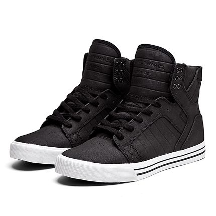 Yes high tips for moms over 40, under 40, college, teens whatever and these from Supra are special comfy and hip around $120- put them with black skinnies, comfy nice Tshirt, jean vest and accessories so u look dressed for anywhere on weekends