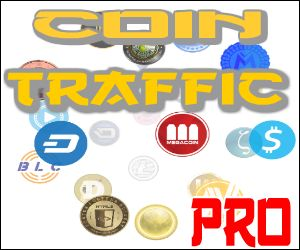 Coin Traffic Exchange PRO.