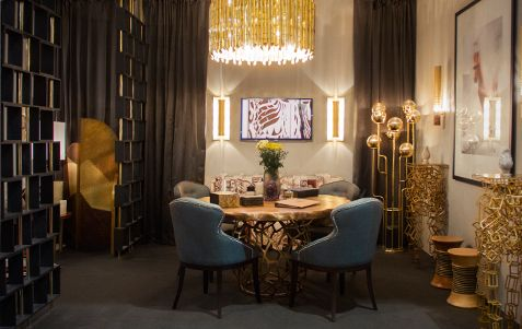 Brabbu | Dining room sets: dining room chairs with dining room table and dining room lamps suspended. Beautiful dining room ideas | See more at diningroomideas.eu