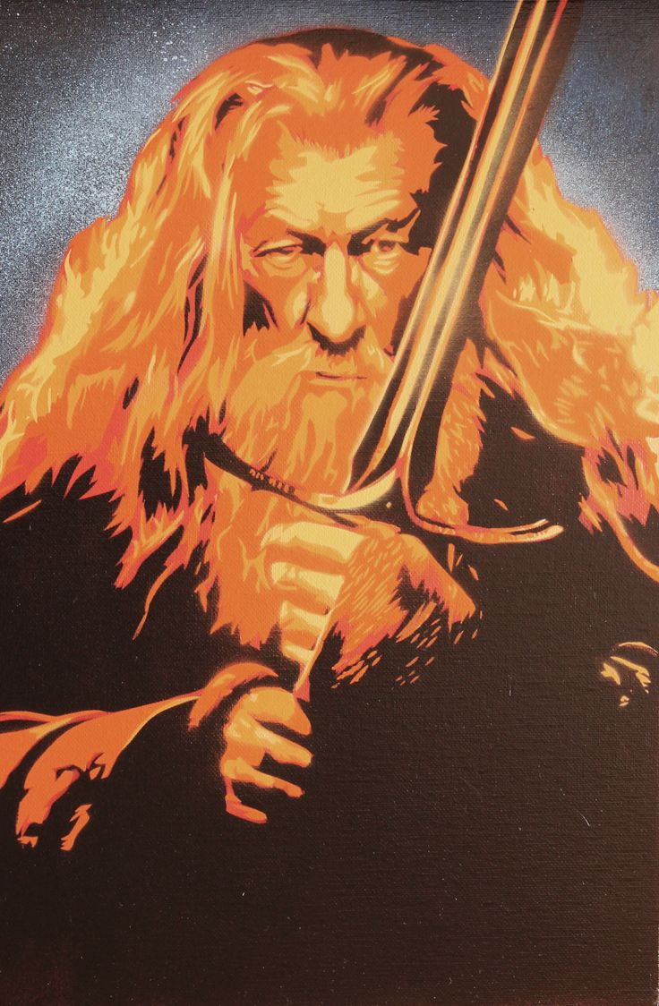 Gandalf Hell               Size: 290x330               Price: 35€ + shipping