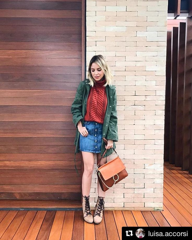 """14 curtidas, 1 comentários - Inspiração, Moda e Viagens  (@mariabeatriz_store) no Instagram: """"#Repost @luisa.accorsi (@get_repost) ・・・ parka day  e o tanto que estou apaixonada por essa parka…"""""""