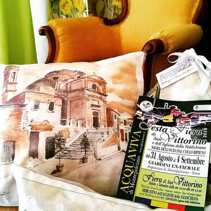 Sabato 3 settembre 2016  Apertura straordinaria anche la mattina per la  Fiera di San Vittorino - Acquaviva di Montepulciano  #tende #tendaggi #tappezzeria #fiera #artigianato