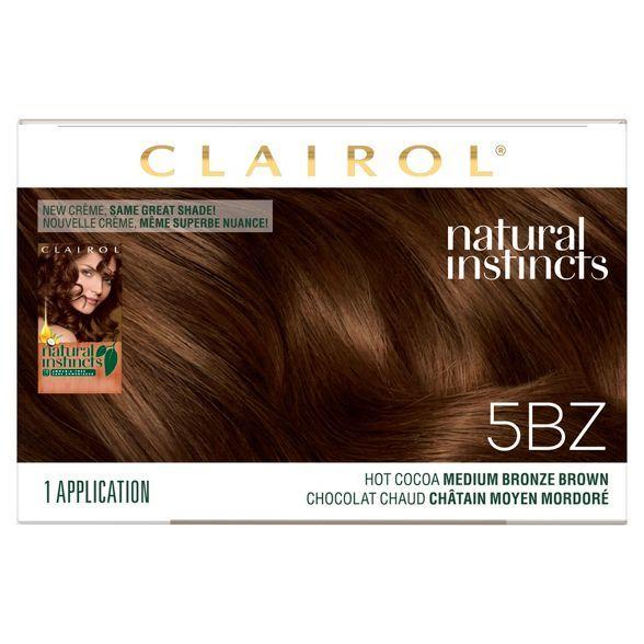 Clairol Natural Instincts Demi Permanent Hair Color In 2020 Clairol Natural Instincts Clairol Natural Permanent Hair Color