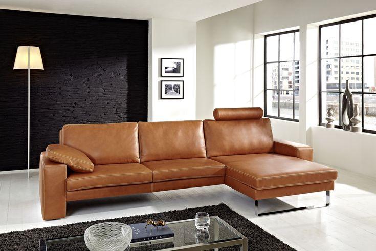 die besten 25 ledercouch ideen auf pinterest wei e. Black Bedroom Furniture Sets. Home Design Ideas