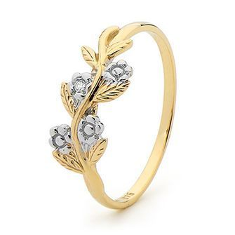 Diamond Ring  Forget Me Not  - BEE-24071