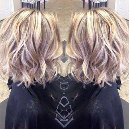 Populäres kurzes blondes Haar 2018