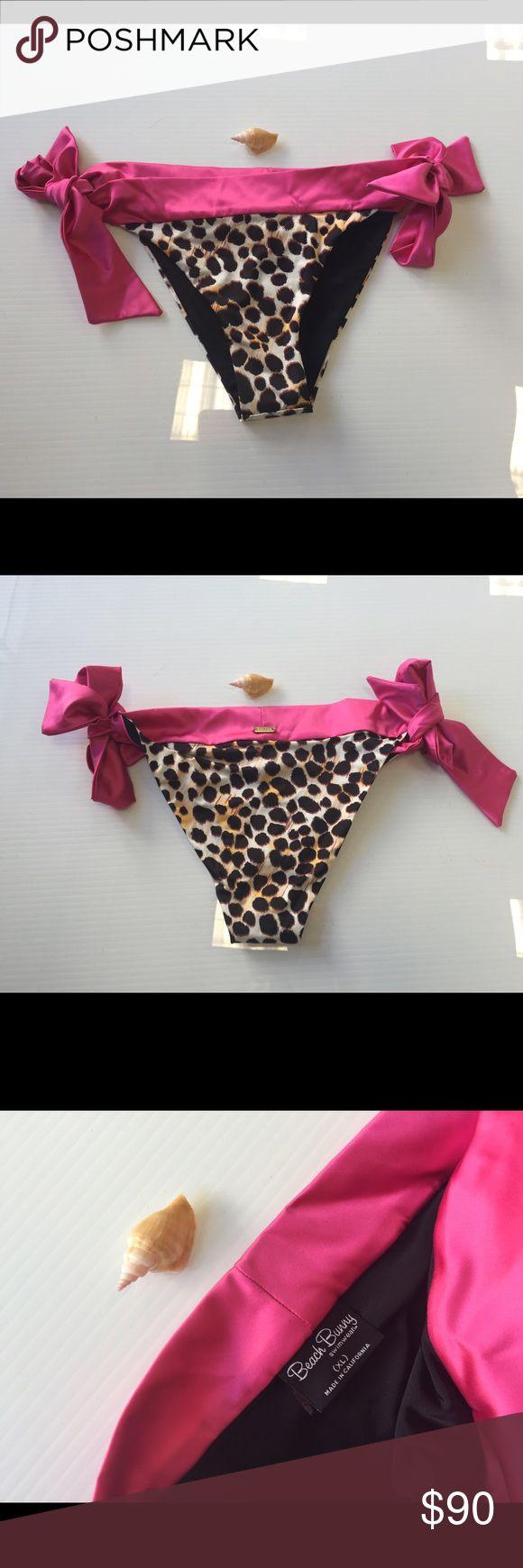 Beach bunny Cheetahlicious bikini bottoms XL new Beach bunny Cheetahlicious bikini bottoms XL new without tags Beach Bunny Swim Bikinis