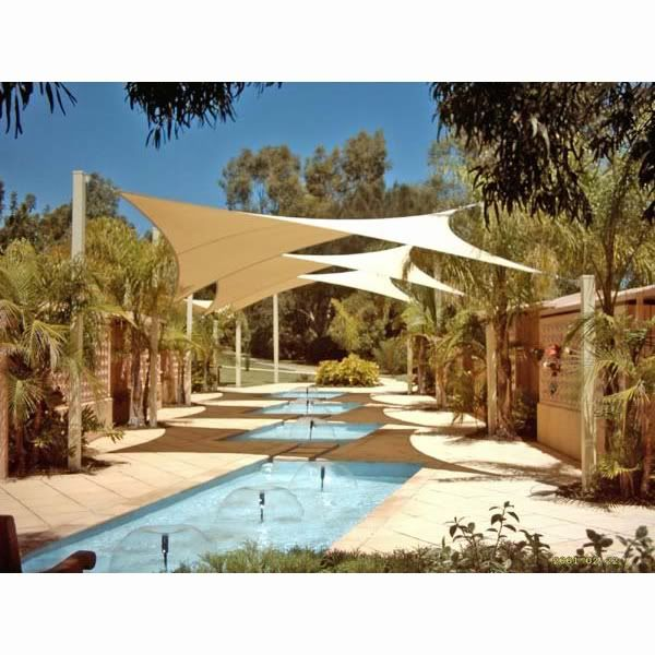 Sun Shade Sail For Patio Pool Hot Tub Awning Deck Party 11