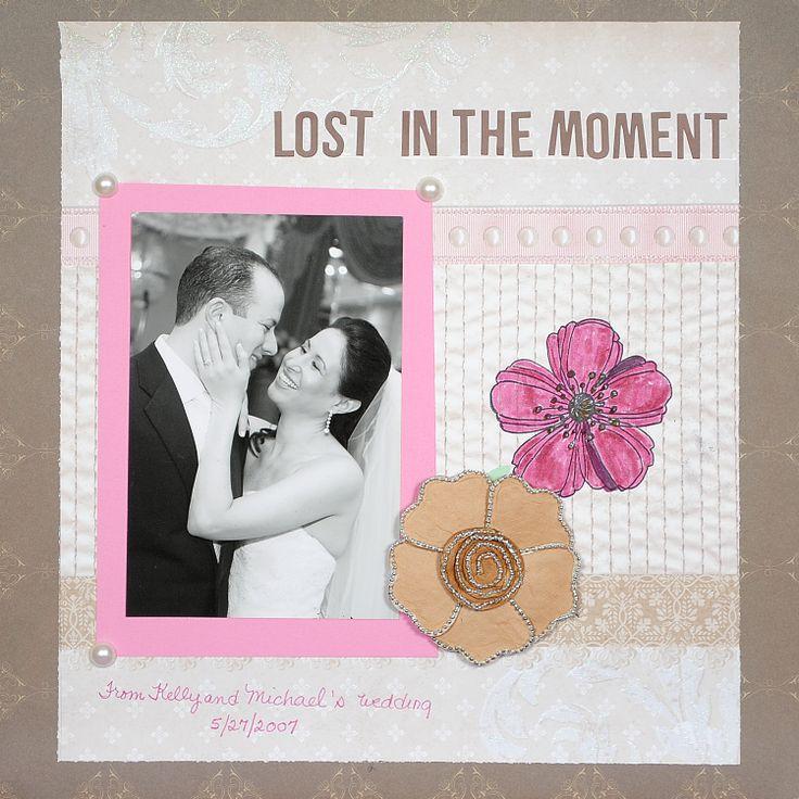 264 Best Wedding Scrapbooking Layouts Images On Pinterest